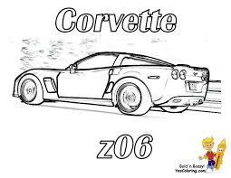 pictures corvette coloring pages 56 on coloring print with