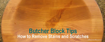 How To Remove Wood Stains by How To Remove Stains From Butcher Block
