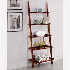 5 tier ladder shelf black ladder shelves ikea makeovers bookcase