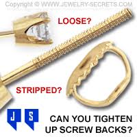 earrings with on backs can you tighten up back earrings jewelry secrets