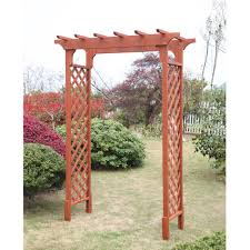 Wood Trellis Plans by Simple Garden Arbor Trellis Arch Woodworking Plans In Decorating Ideas
