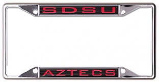 sdsu alumni license plate san diego state aztecs license plates price compare