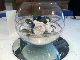 Wedding Table Decoration Ideas Royal Blue Goldfish 1 Table Angels