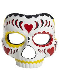 costume masks day of the dead mask