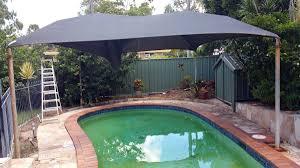 pool shade sail brisbane swimming pool shade superior shade sails