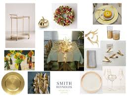 gold glittery thanksgiving table smith interiors