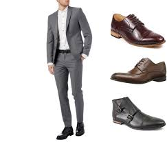 light gray suit brown shoes how to wear black and brown dress shoes with these 5 suits
