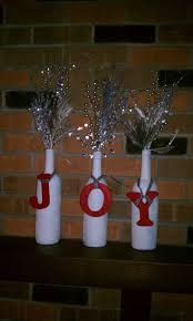 249 best diy holiday decorations images on pinterest wine bottle