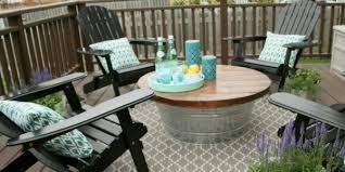 pebble outdoor coffee table the outdoor coffee table with metal bucket base regard to patio
