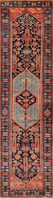 antique malayer runner rug 50352 by nazmiyal