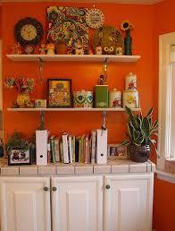 Orange Kitchen Cabinets Best 25 Orange Kitchen Paint Ideas On Pinterest Orange Kitchen