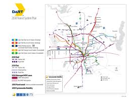 Dallas Fort Worth Metroplex Map by Southern Dallas County Infrastructure Analysis
