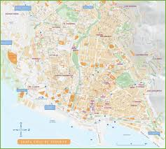 World Map Spain by Santa Cruz De Tenerife Maps Spain Maps Of Santa Cruz De Tenerife