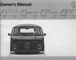 thesamba com 1971 vw bus owner u0027s manual
