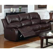 beverly furniture norfolk leather brown 3 pc reclining sofa set