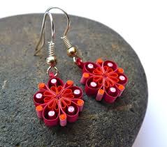 eco earrings 106 best quilling earrings images on quilling earrings