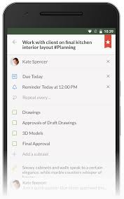 add reminder in android wunderlist for android just got a brand new look