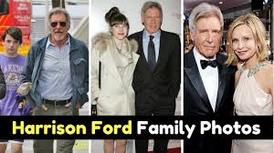ford family actor harrison ford family photos with calista flockhart