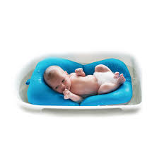 Bathtub Cushion Seat Infant Baby Bath Pad Non Slip Bathtub Mat Newborn Safety Security