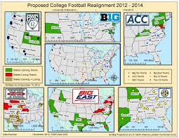 Usf Map Proposed College Football Realignment 2012 2014 Imgur