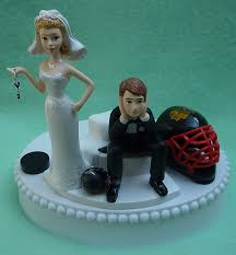 and chain cake topper wedding cake topper chicago blackhawks hockey themed and