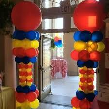 circus balloon balloon decor gallery celebrations saratoga clifton park albany ny