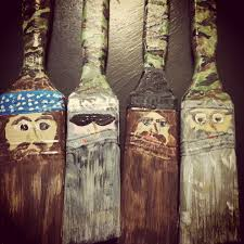 paint brush duck dynasty style ornaments 1 store paint brushes