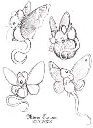 fairy mouse sketches by amarathimi on deviantart