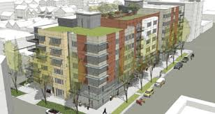 My Ballard  Design Review Meeting For Old Library Site - Apartment building designs