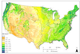 United States Climate Map by Carbon Storage Map U S Climate Resilience Toolkit