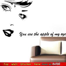 Audrey Hepburn Love Quotes by Aliexpress Com Buy Women Audrey Hepburn Wall Stickers U0027 U0027you