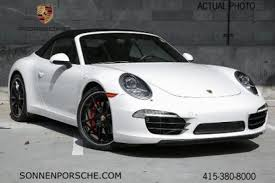 white porsche 911 convertible used 2015 porsche 911 convertible pricing for sale edmunds
