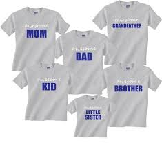 family matching shirts t shirts for whole family baby to