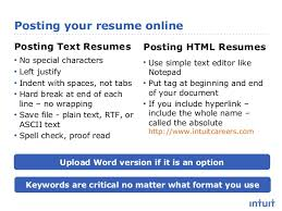 Posting Resumes Online by Resume Advice That Works Get In And Get Noticed