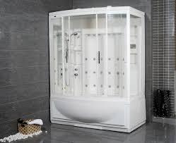 avitus steam shower with whirlpool bathtub bathgems com