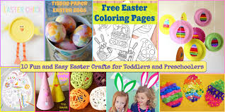 10 easy and fun easter crafts for kids jkwdesigns