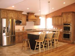 rustic alder kitchen cabinets kitchen decoration