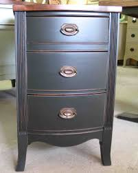 Small Bedroom Night Tables Small Bed Side Tables With Elegant Three Drawers As Storage And
