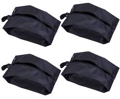Misslo portable nylon travel shoe bags with zipper