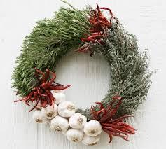 herb wreath culinary garlic and herb wreaths mcfadden farm