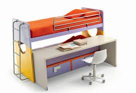letto a con scrivania giotto con scrivania e cassettoni