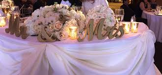 mr and mrs table decoration mr mrs letters wooden wedding sign gold glitter standing