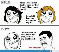 Boy Or Girl Meme - cute best friend quotes boy and girl guy best friend quotes