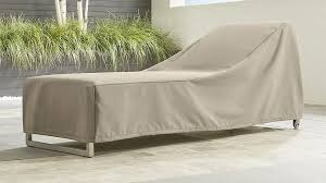 Chaise Lounge Slipcover Outdoor Chaise Lounge Cover Crate And Barrel
