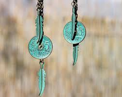 turquoise earrings turquoise earrings etsy