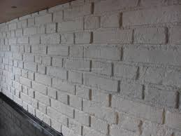 Wohnzimmer Ziegeloptik Wandgestaltung In Der Optik Einer Ziegelwand In Der Farbe Weiss