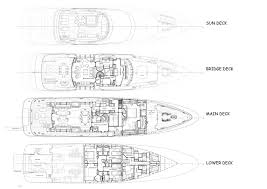 Yacht Floor Plan by Kathleen Anne Layout Feadship Motor Yacht Superyachts Com