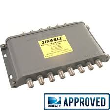 wide band zinwell directv approved wide band ku ka 6x8 multiswitch wb68