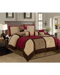 Microsuede Duvet Cover Queen Fall Is Here Get This Deal On Textiles Plus 7 Piece Micro Suede