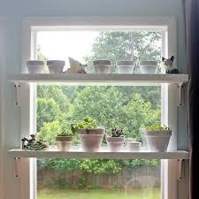 kitchen window shelf ideas best 25 plant shelves ideas on plant wall indoor